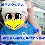 埼玉スタジアム赤ちゃん連れてルヴァン杯決勝